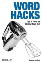 Word Hacks ebook by Andrew Savikas