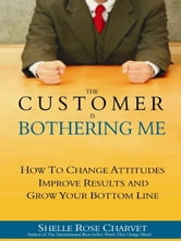 The Customer is Bothering Me - How to Change Attitudes, Improve Results and Grow Your Bottom Line ebook by Shelle Rose Charvet