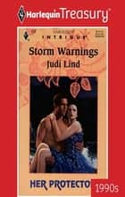 Storm Warnings ebook by Judi Lind