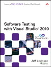 Software Testing with Visual Studio 2010 ebook by Jeff Levinson