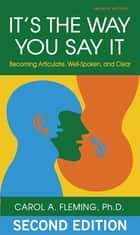 It's the Way You Say It ebook by Carol Fleming