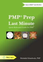 PMP Prep Last Minute - Quick Reference Guide for PMP ebook by Mufaddal Khandwala