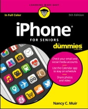 iPhone For Seniors For Dummies ebook by Nancy C. Muir