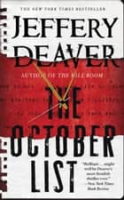 Ebook The October List di Jeffery Deaver