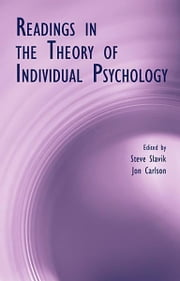Readings in the Theory of Individual Psychology ebook by Steve Slavik,Jon Carlson