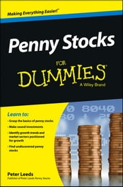 Penny Stocks For Dummies ebook by Peter Leeds