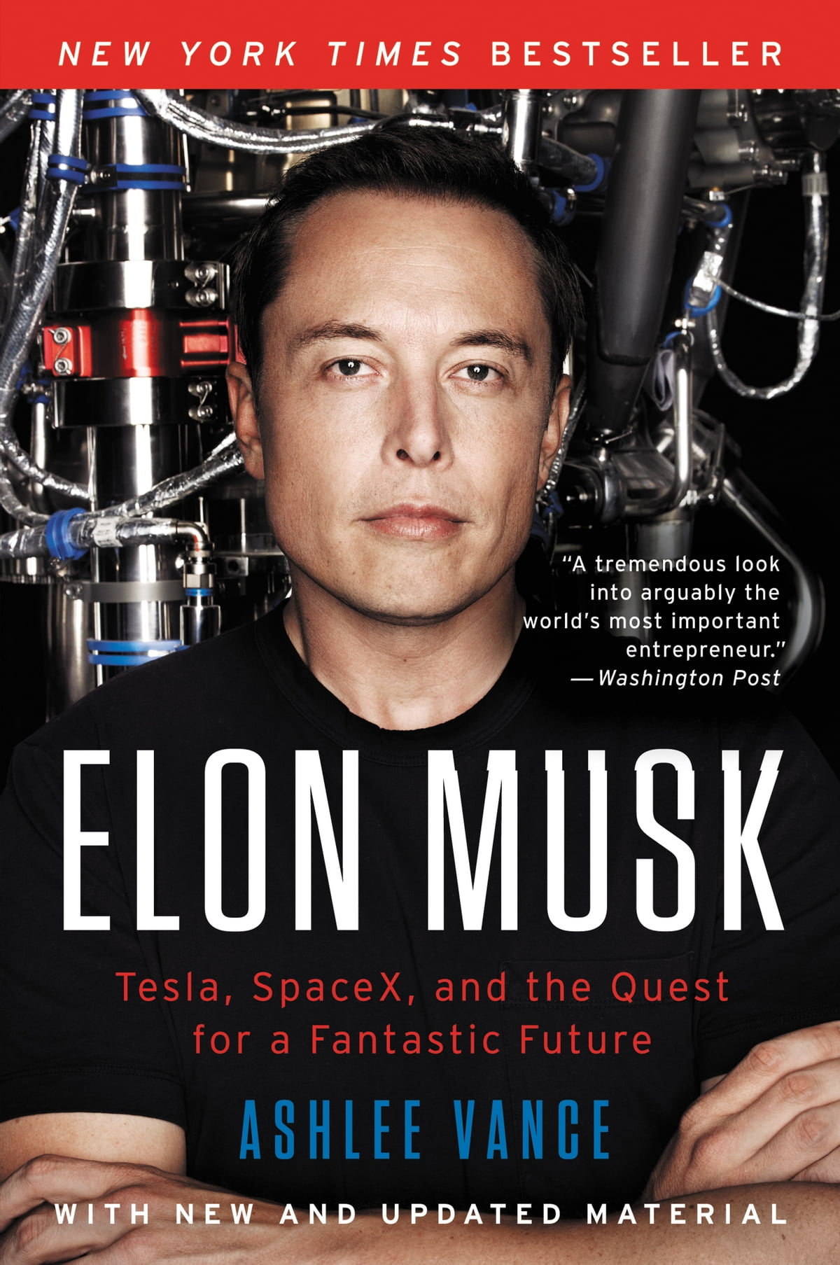 Elon Musk  Tesla, Spacex, And The Quest For A Fantastic Future Ebook By
