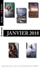 10 romans Black Rose (nº458 à 462 - Janvier 2018) ebook by Collectif