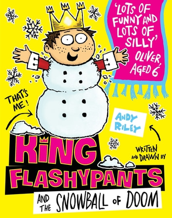 King Flashypants and the Snowball of Doom - Book 5 ebook by Andy Riley