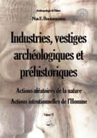 Industries, vestiges archéologiques et préhistoriques - Action aléatoire de la nature & Action intentionnelle de l'Homme - Volume VI ebook by Nas E. Boutammina