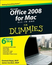 Office 2008 for Mac All-in-One For Dummies ebook by Geetesh Bajaj,Jim Gordon