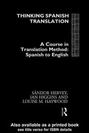 Thinking Spanish Translation ebook by Hervey, Sandor