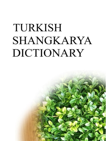 TURKISH SHANGKARYA DICTIONARY ebook by Remem Maat