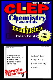 CLEP Chemistry Test Prep Review--Exambusters Flash Cards - CLEP Exam Study Guide ebook by CLEP Exambusters