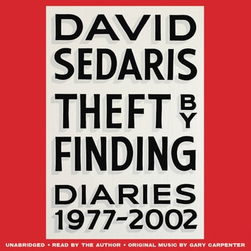 Theft by Finding Audiobook