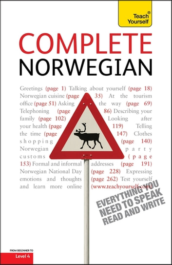 Complete Norwegian (Learn Norwegian with Teach Yourself) - EBook: New edition ebook by Margaretha Danbolt-Simons