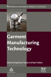 Garment Manufacturing Technology ebook by