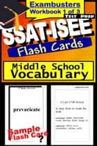 SSAT-ISEE Test Prep Essential Vocabulary Review--Exambusters Flash Cards--Workbook 1 of 3 - SSAT Exam Study Guide ebook by SSAT Exambusters