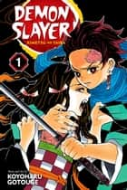 Demon Slayer: Kimetsu no Yaiba, Vol. 1 - Cruelty ebook by Koyoharu Gotouge