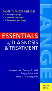 Essentials of Diagnosis & Treatment ebook by Saint, Sanjay
