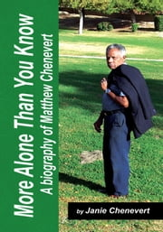More Alone Than You Know ebook by Janie Chenevert