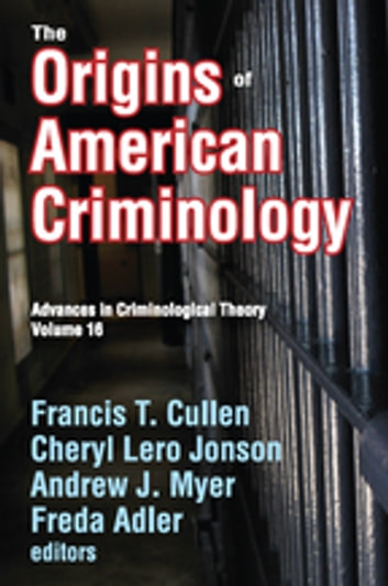 criminology and francis t cullen essay Fifty years ago, david matza wrote delinquency and drift, challenging the ways people thought about the development of criminals today, delinquency and drift revisited reminds criminologists that they ignore matza's writings at their own.