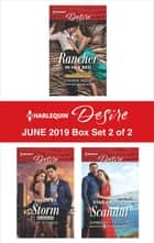 Harlequin Desire June 2019 - Box Set 2 of 2 電子書籍 by Joanne Rock, Cat Schield, Kimberley Troutte
