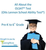All About the OLSAT® Test - Crash Course for the Otis-Lennon School Ability Test® Pre-K to 8th Grade ebook by Karen Quinn