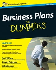 Business Plans For Dummies ebook by Paul Tiffany,Steven D. Peterson,Colin Barrow