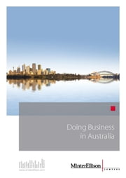 Doing Business in Australia ebook by Minter Ellison