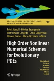High Order Nonlinear Numerical Schemes for Evolutionary PDEs - Proceedings of the European Workshop HONOM 2013, Bordeaux, France, March 18-22, 2013 ebook by