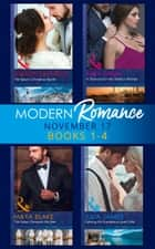 Modern Romance Collection: November 2017 Books 1 - 4 (Mills & Boon e-Book Collections) ekitaplar by Sharon Kendrick, Abby Green, Maya Blake,...