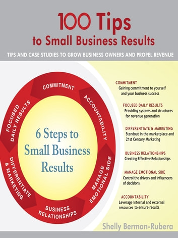 100 Tips to Small Business Results - Tips and Case Studies to Grow Business Owners and Propel Revenue ebook by Shelly Berman-Rubera