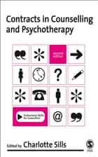 Contracts in Counselling & Psychotherapy ebook by Charlotte Sills