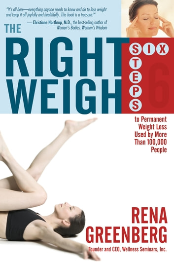The Right Weigh eBook by Rena Greenberg