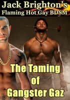 The Taming of Gangster Gaz (Flaming Hot Gay BDSM) ebook by Jack Brighton