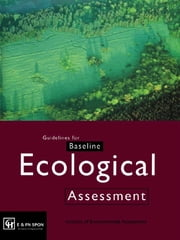 Guidelines for Baseline Ecological Assessment ebook by