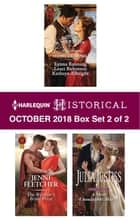 Harlequin Historical October 2018 - Box Set 2 of 2 - A Western Christmas Homecoming\The Warrior's Bride Prize\A Most Unsuitable Match ebook by Jenni Fletcher, Julia Justiss