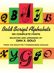 Bold Script Alphabets ebook by