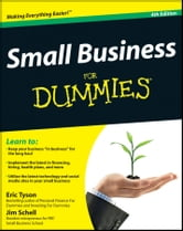 Small Business For Dummies ebook by Eric Tyson,Jim Schell