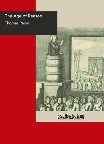 The Age Of Reason ebook by Paine,Thomas