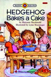Hedgehog Bakes a Cake ebook by MacDonald, Maryann