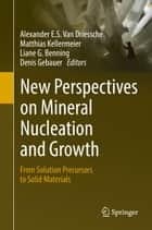 New Perspectives on Mineral Nucleation and Growth - From Solution Precursors to Solid Materials ebook by Denis Gebauer, Matthias Kellermeier, Liane G. Benning,...