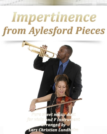Impertinence from Aylesford Pieces Pure sheet music duet for viola and F instrument arranged by Lars Christian Lundholm ebook by Pure Sheet Music