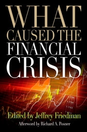 What Caused the Financial Crisis ebook by Jeffrey Friedman,Richard A. Posner