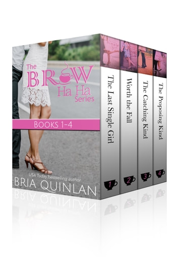 Brew Ha Ha Box Set - Books 1-4 ebook by Bria Quinlan