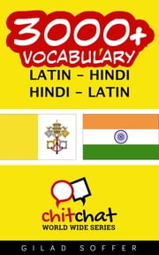 3000+ Vocabulary Latin - Hindi ebooks by Gilad Soffer