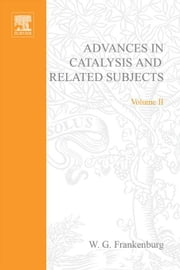 Advances in Catalysis ebook by Kobo.Web.Store.Products.Fields.ContributorFieldViewModel