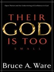 Their God Is Too Small: Open Theism and the Undermining of Confidence in God ebook by Bruce A. Ware