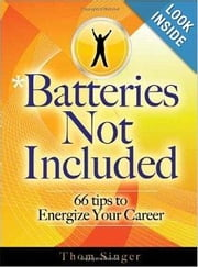 Batteries Not Included ebook by Singer, Thom